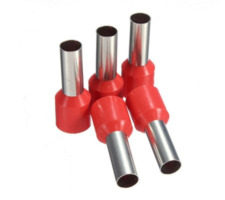 Insulated cord end terminals