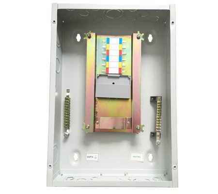 Mde Distribution Panel Board Steel Busbar Type Three