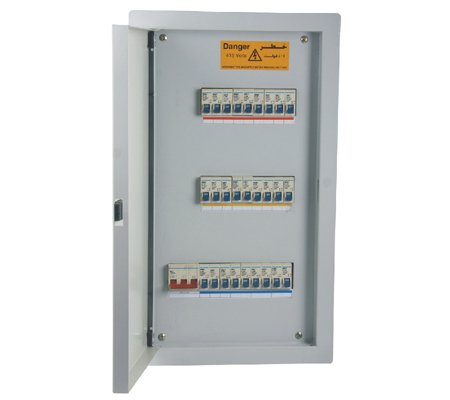 Inner Door Din Rail Metal Mdpb Distribution Panel Box Oppder