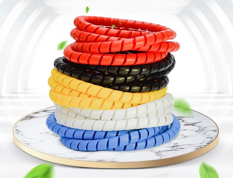 Spiral Wrapping Bands Use